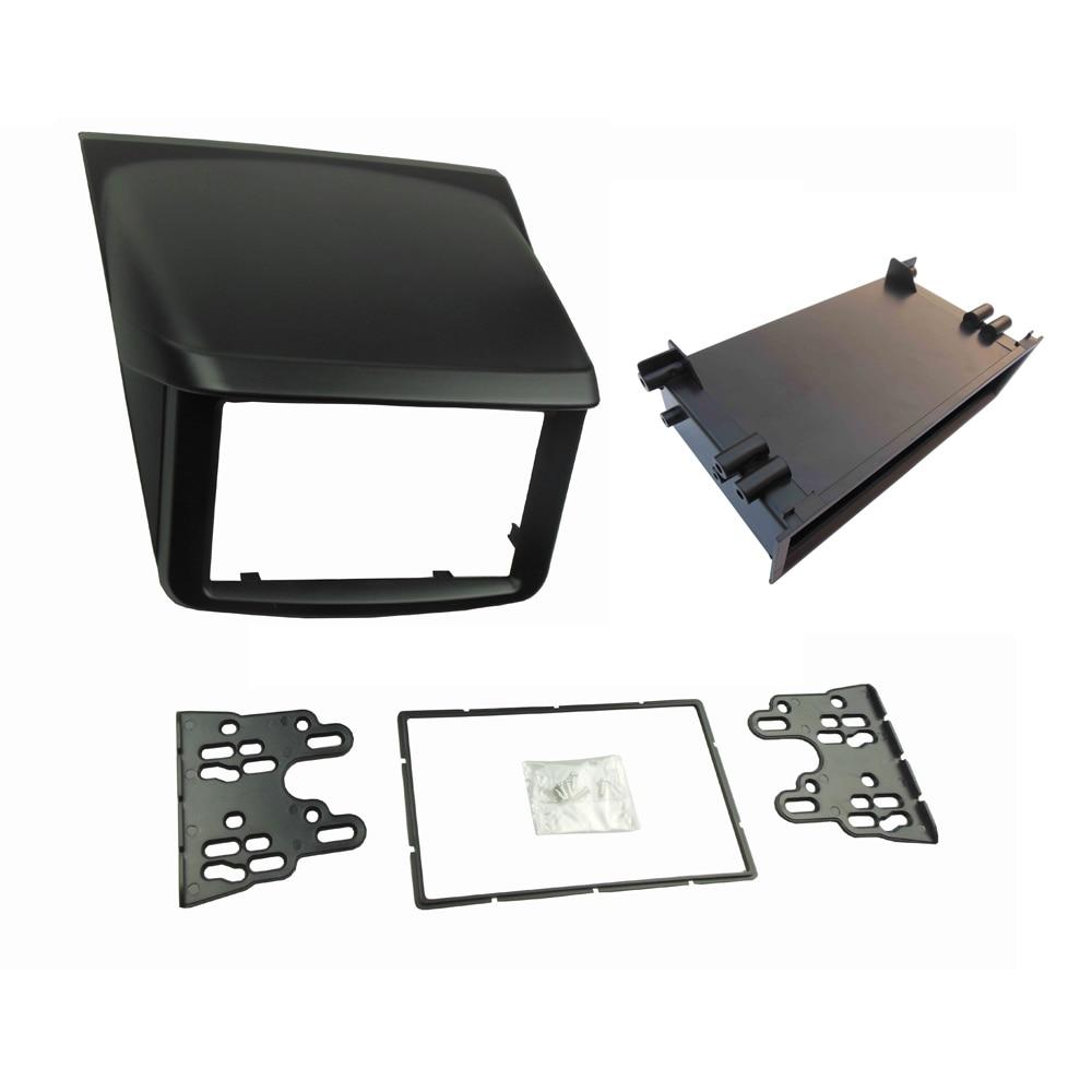 Aliexpress com buy 1 or 2 din stereo panel for mitsubishi pajero sport triton l200 radio dvd dash mounting installation trim kit face frame fascia from