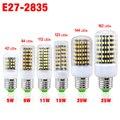 E27 123 144 162 LEDs LED Milho luz 220 V/110 V flexível barra de luz 2835SMD alto brilho Não-à prova d' água decoração interior