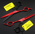 High Quality Japan Kasho 6 Inch Professional Hair Scissors Left Handed Barber Cutting Shears Hairdressing Salon Tools Set