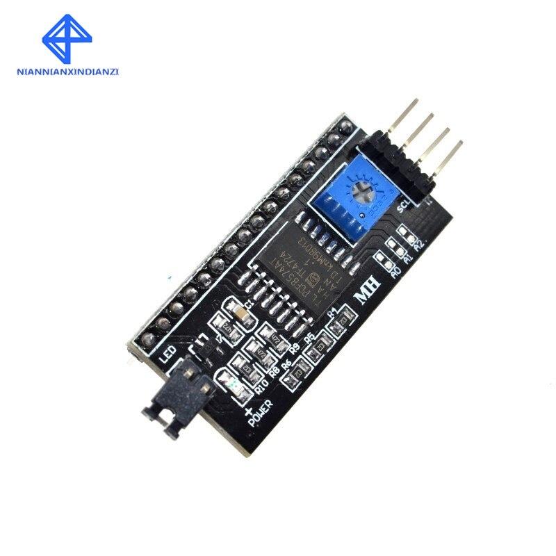 Freies Verschiffen 10PCS IIC/I2C/Interface LCD1602 2004 LCD Adapter Platte für Arduino