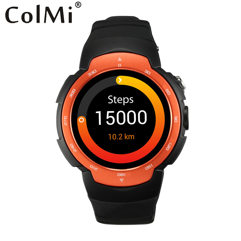 ColMi Android 5 1 font b Smartwatch b font VS105 CPU MTK 6580M 512M RAM 4GROM
