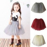 2017 Baby Girl Toddler Keen Length Dresses 2 12y Girl Summer Layer Skirt Dresses Kids Baby