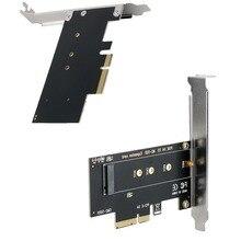 M.2 Накопитель SSD с протоколом NVME к адаптер PCIe карты Поддержка PCI Express 3,0x4 2230 2242 2260 2280 Размеры M.2 SSD FULL SPEED Riser Card