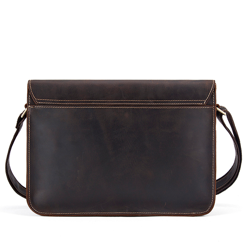 Image 2 - WESTAL genuine leather men's shoulder bag male satchels handbag bussiness document messenger bag men's crossbody bags for men-in Crossbody Bags from Luggage & Bags