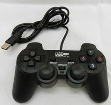 Promotion Wired Controller Double Shock Remote joystick Gamepad Joypad for PlayStation 2 PS2 PC Computer Laptop