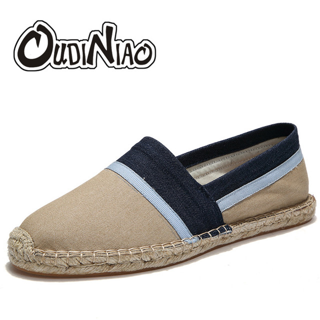 Patch Men Slip-On Canvas Loafers