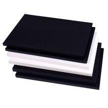 120-400gsm высокое качество A4 черно-белая крафт-бумага DIY ручной работы для изготовления карт крафт-бумага плотная бумага картон