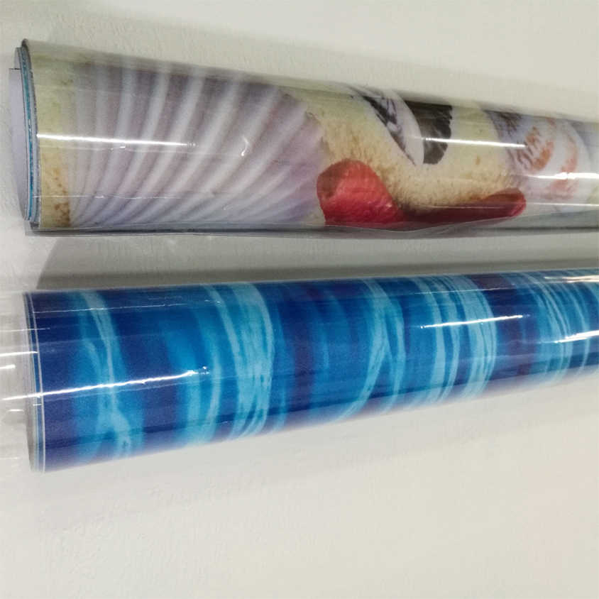מותאם אישית קיר קיר רצפת מדבקת 3D צבע אבנים קיר ציור חדר שינה סלון חדר אמבטיה דביק רצפת טפט דקור