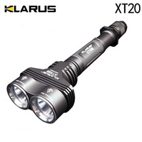 Klarus XT20 LED Flashlight 1550 Lumens CREE XM L U2 LED 3 Mode Mini Torch Camping