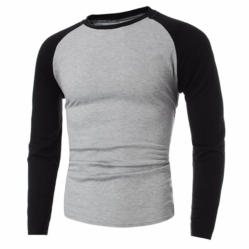 INCERUN 2018 New Plus Size Tshirts Cotton Men Long Sleeve