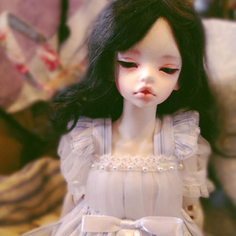New Arrival Doll BJD DIM Laia Half Sleeping Or Open Eyes Head 1/4 Doll BJD For Girl Oueneifs Doll
