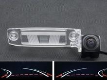 1080P Fisheye Lens Trajectory Tracks Car Rear view Camera For Kia Sportage SL R 2011 2012 2013 2014 K3