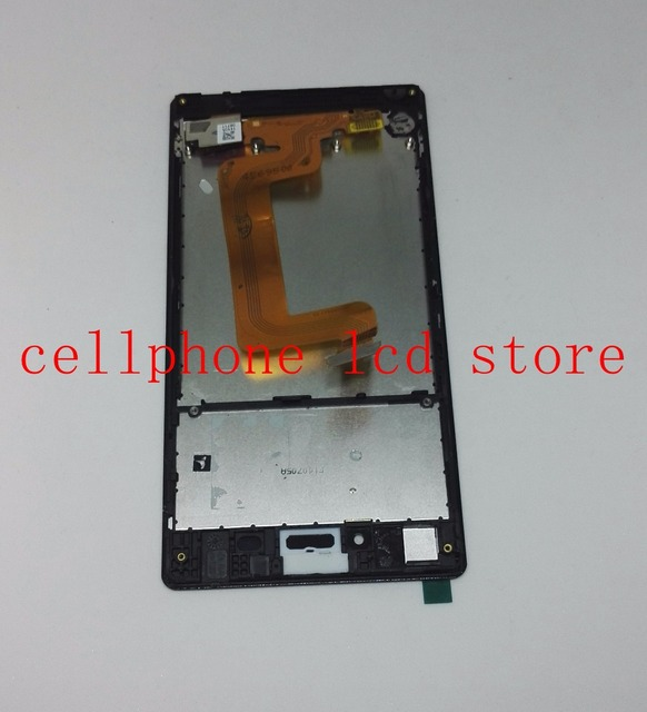 Для Sony Xperia T3 M50w D5102 D5103 D5106 Pantalla ЖК-Экран с Сенсорным Экраном Дигитайзер + Рамка Ассамблеи Экран Черный