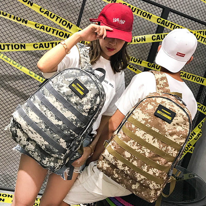 Men PUBG Backpack Multifunction Waterproof Teenage School USB Charging Backpacks Women Travel Level 3 Bag Boys Mochila BP0247 (12)
