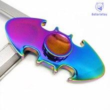 Aluminum alloy plating color Finger Spinner Hand Spinner Batman Fast Bearing Toy Fidget Spinner edc