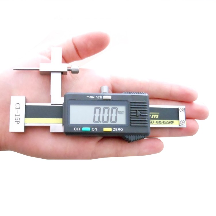 Electronic Measuring Equipment : Gap caliper high precision digital step face height gauge