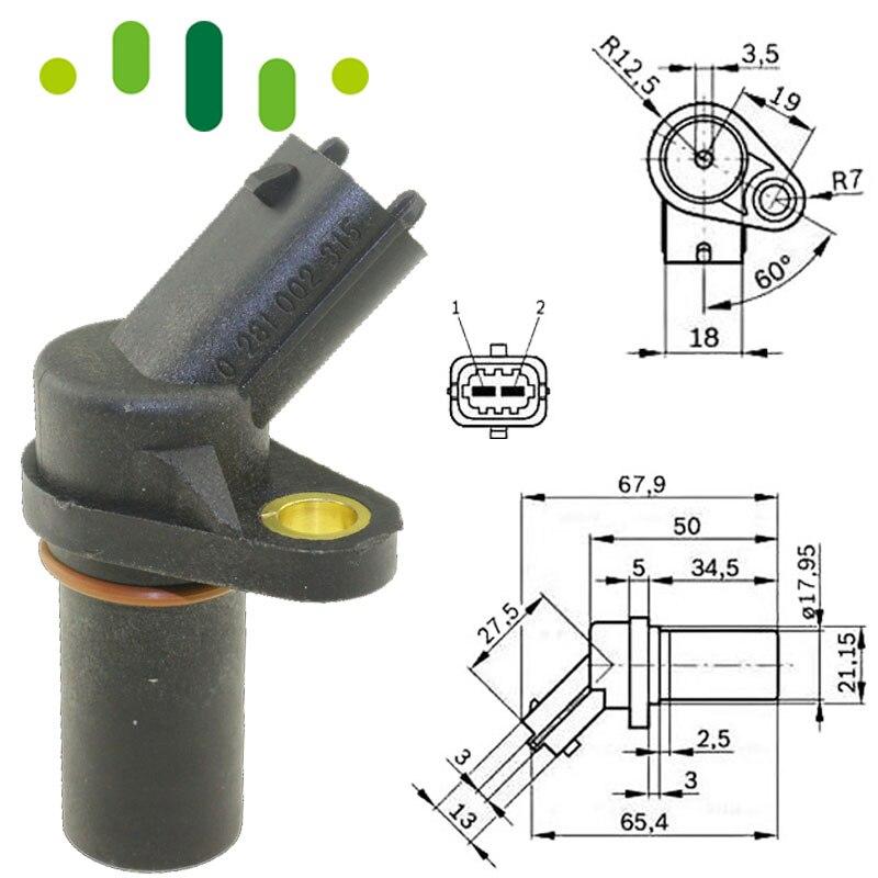 Crankshaft Position Sensor For Renault Trucks Kerax Midlum Premium Volvo FH FL FM 0281002315 0261210151 504096645 5010412449