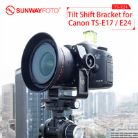 sunwayfoto TS E24 tripod Canon dslr camera accessories TS E17/TS E24 Tilt Shift Lens Bracket quick release plate arca swiss