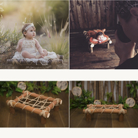 newborn baby creative photography bed Europe and America baby 100 days photography prop infantile prop basket