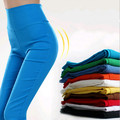 Fitness Workout Plus Size Black Leggings For Women Slim Jeggings Candy Color Ladies Leggings MF8569321