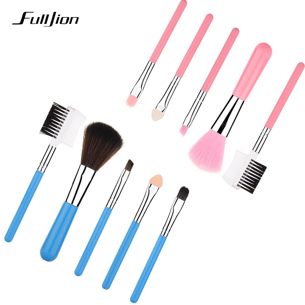 Buy Fulljion Fashion Mini 5pcs Pink Makeup Brushes Cosmetic Tool Eyeshadow Eye
