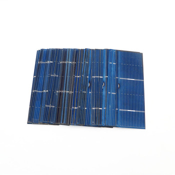 50pcs/lot 125 156 Solar Cells Panel DIY Charger Polycrystalline Battery Charge 5V 6V 12V Silicon Sunpower 5/6 inch Mono Poly 5