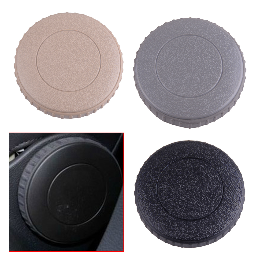 CITALL Black/Beige/Grey Front Seat Recline Knob Adjust Handle 1J0 881 671 H Fit For VW Rabbit Jetta MK5 Golf MK6 Rabbit