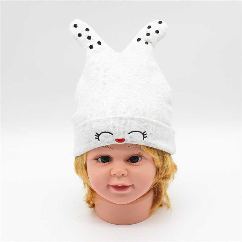d85784f05b3 Newborn baby girl Hat cap for winter thickened warm kids boy caps infant  boys Hat with