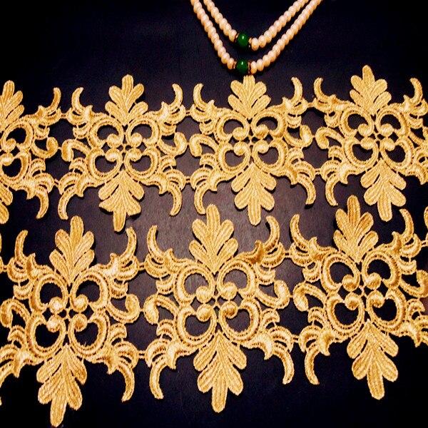 Dentelle la dentelle Baroque unilatérale Buiter dentelle d'or garniture dentelle de broderie