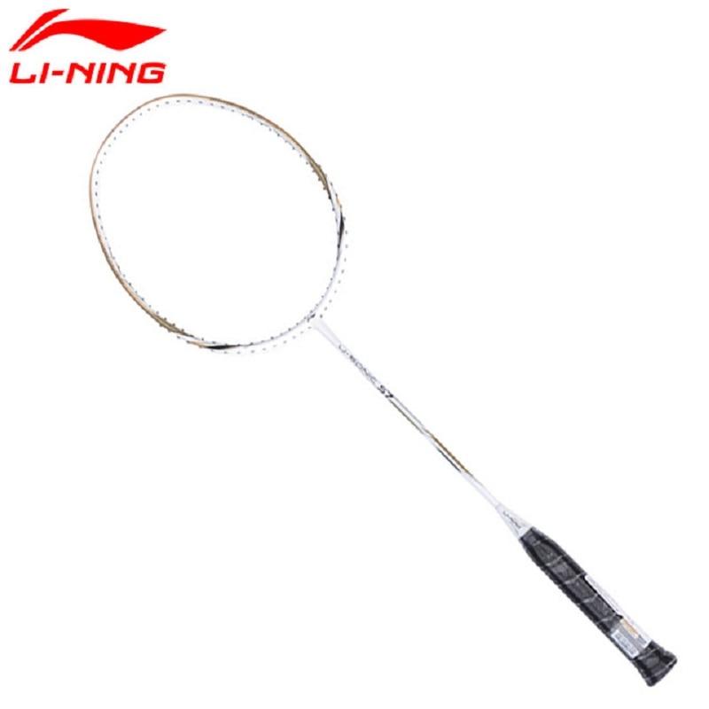 Li-Ning U-sonic 57 Ракетки для бадминтона одной ракетки Профессиональные Углерода Волокно подкладка ракетки aypm232