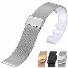 купить New Sports Stainless Steel Milan Watch Band Strap For Samsung S2  For For Moto For LG For Huawei Smart Watch +Spring bar Tool дешево