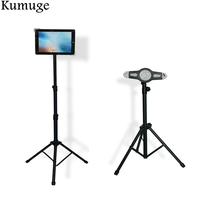 2018 Universal 7 11 inch Tablet Floor Stand for iPad 9.7 Pro 10.5 Tablet Stand Holder for iPad Air 2/1 Mini Samsung Tripod Mount