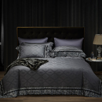 Luxury 600TC Egypt Cotton Delicate Lace Bedding Set Jacquard Duvet Cover Sets Bed Sheet Pillowcases Queen King Size 4pcs