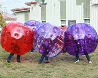 Free Shipping 1.5M Inflatable Bumper Ball 5FT Diameter Bubble Soccer Ball TPU Transparent Material Human Knocker Ball Zorb Ball