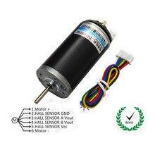 CHR-GM3162 Permanent Magnet DC Hall Encoder Code Disc Motor / High Torque High Power DC6V12V24V