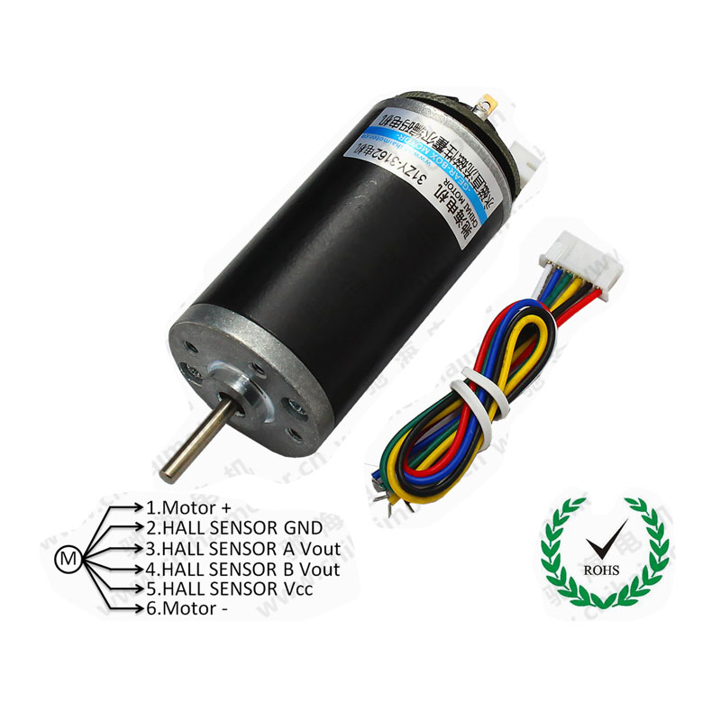 CHR-GM3162 Permanent Magnet DC Halle Encoder Code Disc Motor/Hohe Drehmoment High Power DC6V12V24V