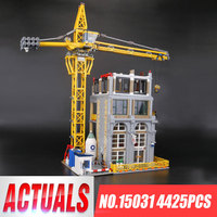 В наличии 15031 4425 шт. серия MOC Классическая Строительная площадка строительные блоки Совместимые части игрушек Legoing модель подарки