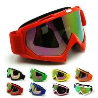 NEW Motocross goggles MX helm goggle Motorrad ATV Dirt Brille Rot Farbe sonnenbrille