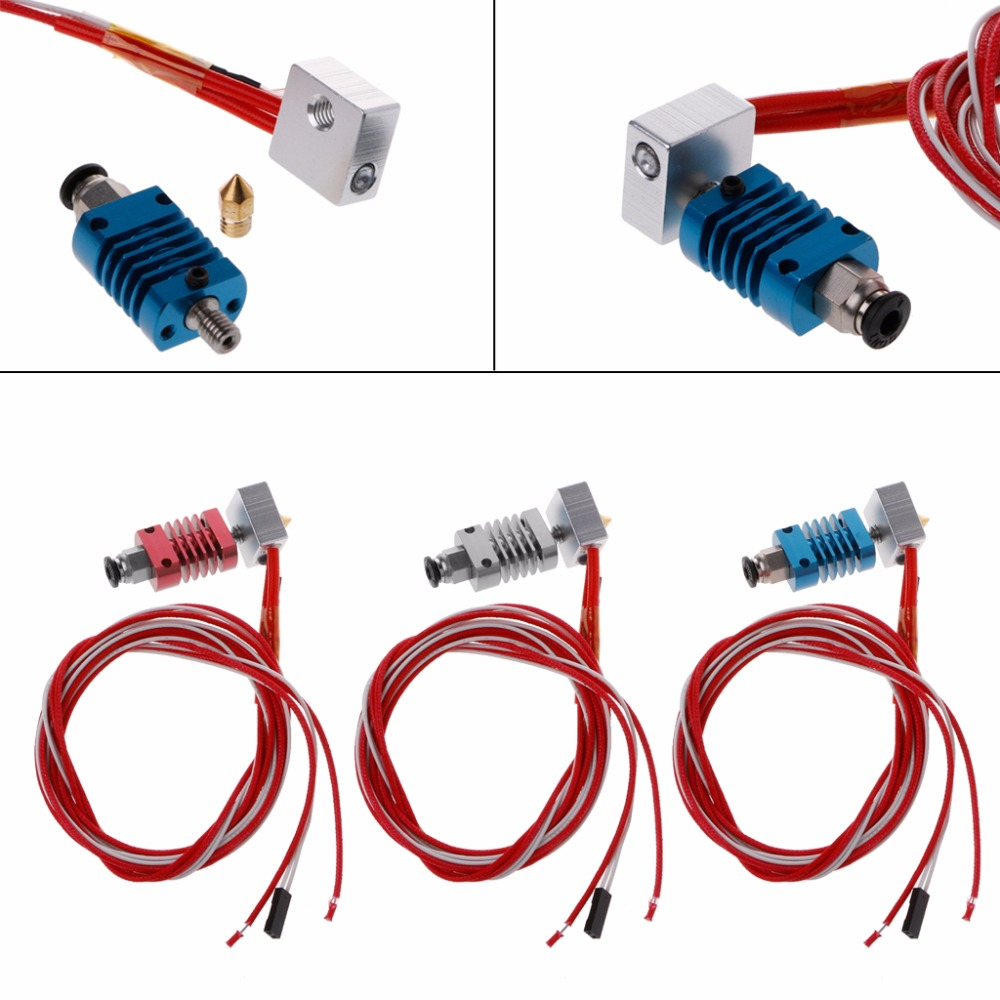 3D J-head Hotend V6 Extruder Kit CR8/CR10 For 1.75mm Bowden Extruder 0.4 Nozzle MAY23 dropship