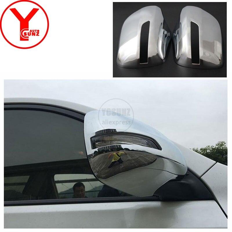 2010-2018 couverture de miroir pour Toyota Land cruiser Prado 150 2015 2017 accessoires de rétroviseur pour toyota Prado 150 2010 YCSUNZ