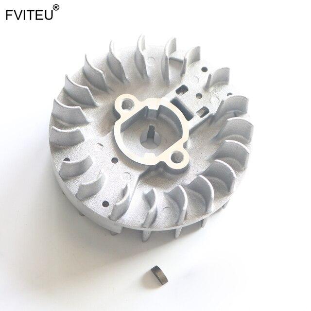 FVITEU Easily Starting flywheel for 32cc Rovan Zenoah CY Engine for 1/5 Rovan Baja 5b ss 5t 5sc LOSI 5IVE-T Rovan LT King motor