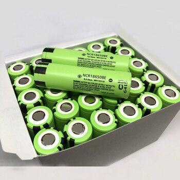 Оптовая продажа, новинка, оригинальный аккумулятор для Panasonic 18650 NCR18650BE 3200 мАч 3,7 В, литий ионные аккумуляторы для электронных сигарет