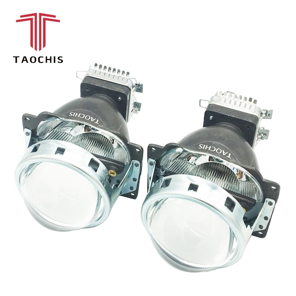 TAOCHIS Q5 3,0 дюймових лінз проекторів Bi Xenon автомобіля прихована фара модифікує світловідбиваючий промінь Hi / Lo для D2H D2S D1S D3S