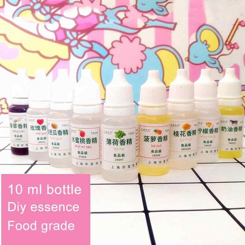10ml Flavor For Slime Modeling Clay Diy Educational Toys For Children Kids Creative Make Your Slime Smell Sweet Slices Flavors