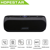 HOPESTAR H19 NFC Touch Wireless Bluetooth Speaker Stereo Bass Column Mp3 Altoparlante Subwoofer Speakers With 4400MAH