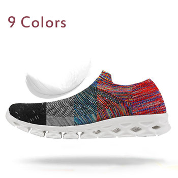 MWY Outdoor Lightweight Sports Sneakers Fitness Shoes Women Zapatillas Mujer Deportiva Gym Jogging Shoes Plus