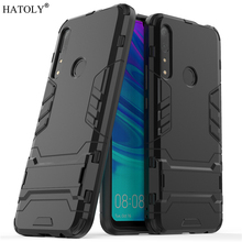 Huawei Y9 Prime 2019 Case Rubber Robot Armor Shell Hard PC Back Phone Cover for