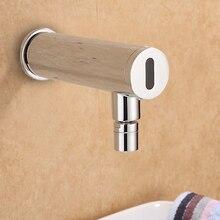 wall faucet copper infrared automatic sensor faucet medical sensor wash cold water copper faucet TL062 500pcs tl062 tl062cp dip 8