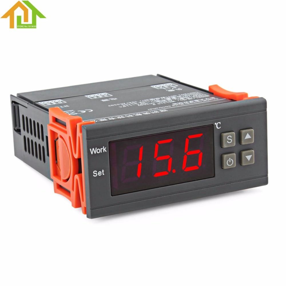 AC 90V~250V Thermostat Regulator Temperature Controller for Water Tanks / Refrigerator
