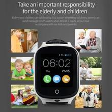 A19 relógio Crianças Relógio de Pulso Inteligente 3G WIFI GPRS GPS Localizador Rastreador telefone do relógio inteligente telefone do Relógio Do Bebê Com a Câmera Para IOS Android